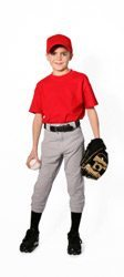 Boy In Baseball Gear