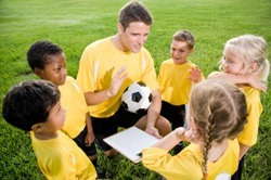 Youth Soccer Team Meeting